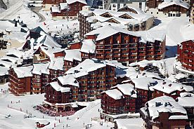 TRANSPORT + HEBERGEMENT + FORFAIT - VAL THORENS - Le Cheval Blanc