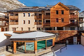 ACCOMMODATION + SKI PASS - ABRIES - Les Balcons du Viso