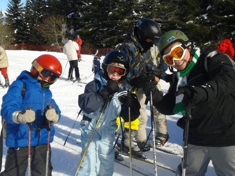 Multi-glisses et chiens de traineau - Février / Puy-de-Dôme